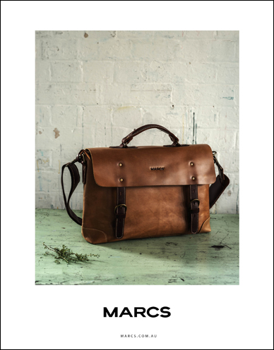 marcs brown leather satchel