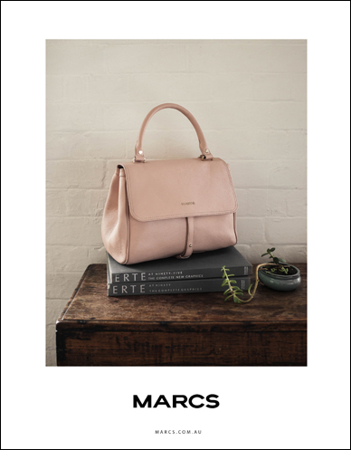 marcs pink leather handbag