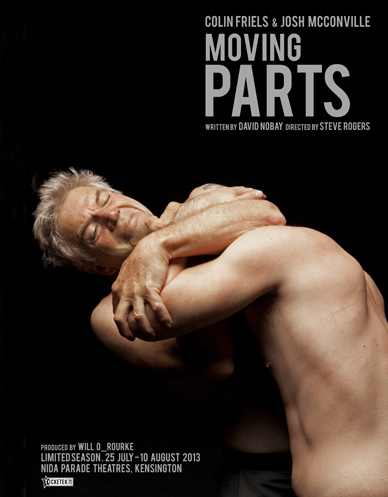 poster of moving parts theatre production